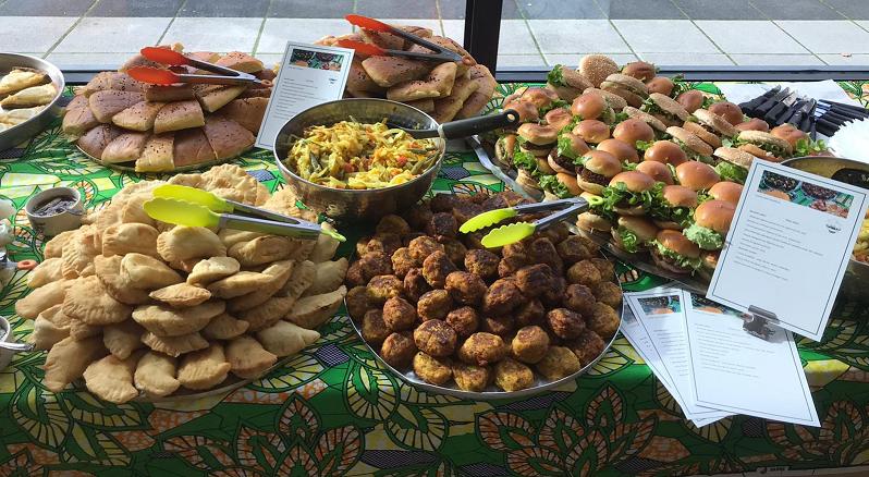 Galettes algériennes et Burgers Végétariens